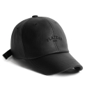 플래토(PLATEAU) LEATHER BK 1982 CAP_BLACK 가죽볼캡