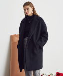 LA SHORT OVER COAT(BLACK)