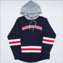 BANKTWOBROTHERS HOODED HOCKEY COLLEGE (NAVY)