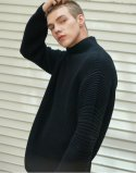 일꼬르소(IL CORSO) IL CORSO Lobe edge turtleneck sweater IESW7F306N2