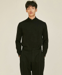 로맨틱 파이어리츠(ROMANTICPIRATES) ESSENTIAL CREWNECK KNIT SWEATER(BLACK)