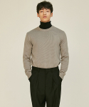 로맨틱 파이어리츠(ROMANTICPIRATES) ESSENTIAL CREWNECK KNIT SWEATER(NEUTRAL GRAY)