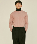 로맨틱 파이어리츠(ROMANTICPIRATES) ESSENTIAL CREWNECK KNIT SWEATER(ROSEPINK)