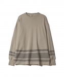 패브릭스(FABRICES) FABRICES / FADED L/S T-SHIRT / M.GRY/S.GREY