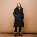 DUCK DOWN LONG COAT_BLACK