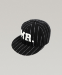 하레() STRIPE MR SNAPBACK (BLACK) [HWFUHT002BLK]