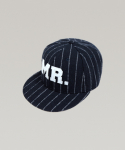하레() STRIPE MR SNAPBACK (NAVY) [HWFUHT002NAY]