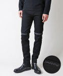 17 BLACK KNIFE QUILTED JEANS