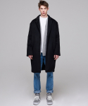 매드마르스(MADMARS) REAR POCKET SINGLE COAT_BLACK