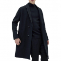 IL CORSO Shinseul Wool Jersey Low Half Double Coat IECO7F202BK