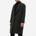 일꼬르소(IL CORSO) IL CORSO Shinseul Wool Jersey Low Half Double Coat IECO7F201K3