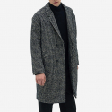 IL CORSO Sincere Fancy Tweed Hound Tooth Half-double coat IECO7F212N2