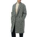 일꼬르소(IL CORSO) IL CORSO Sincere Alpaca Fancy tweed check double coat IECO7F211G2