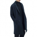 일꼬르소(IL CORSO) IL CORSO Shinseul Wool Jersey Low Half Double Coat IECO7F202N3