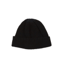 왓에버위원트(WHATEVERWEWANT) [UNISEX] CASHMERE BEANIE [BLACK]