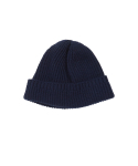 왓에버위원트(WHATEVERWEWANT) [UNISEX] CASHMERE BEANIE [NAVY]