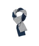 왓에버위원트(WHATEVERWEWANT) [UNISEX] CASHMERE MUFFLER [BLUE/GRAY]