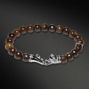 Lion Beads Bracelet(8mm Bronzite)