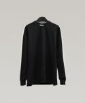 하레() Side Line Sweatshirt (Black) [HPWMTL001BLK]