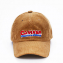 어네이티브(A.NATIVE) CAMPER CORDUROY BALL CAP (BLACK/BROWN)