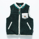 17 KIDS FLEECE VEST GREEN