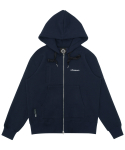트라이투톡(TRYTOTALK) T37F POCKET POINT HOOD ZIP UP (NAVY)
