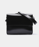 피스메이커() LEATHER MAIL BAG (BLACK)
