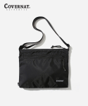 커버낫(COVERNAT) NYLON SHOULDER BAG BLACK