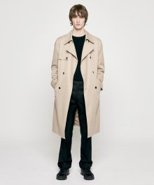 OVERSIZED TRENCH COAT beige