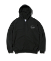 디스이즈네버댓(thisisneverthat) C-Logo ZIP UP Sweat Black