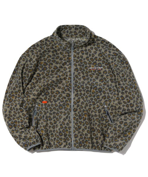 Fleece Jacket Leopard