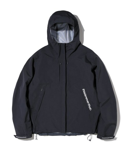 디스이즈네버댓(THISISNEVERTHAT) 3SP-Taped Seam Jacket Black