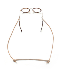 라퍼지스토어(LAFUDGESTORE) (Unisex) Vegetable Leather Glasses Strap_Camel