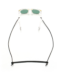 라퍼지스토어(LAFUDGESTORE) (Unisex) Vegetable Leather Glasses Strap_Black