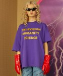 [UNISEX] TELEVISION T-SHIRT - ULTRA VIOLET