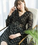 Rose Eyelet Dress_Black