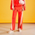 아이아이(EYEYE) EYEYE HEART SLIT LOUNGE PANTS_RED (EEOG1FPR02W)