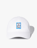 해브 어 굿 타임(HAVE A GOOD TIME) [18 S/S] Blue Frame Ball Cap - White