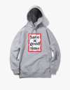 해브 어 굿 타임(haveagoodtime) [18 S/S] Frame Pullover Hoodie - Heather Grey