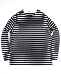 아웃스탠딩() BOAT NECK LONG SLEEVE[NAVY/IVORY]