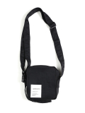 써틴먼스(13MONTH) BUCKLE STRAP CROSS BAG (BLACK)