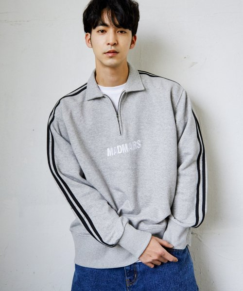 매드마르스(MADMARS) ZIP-UP SWEATSHIRTS_GRAY