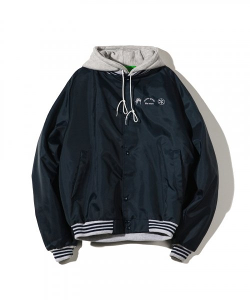 미스터 그린(MISTER GREEN) MISTER GREEN / SWEAT-HOOD JACKET / NAVY