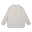 홀리선(HORLISUN) Emery Spring Long Sleeve Pocket T-shirts Gray