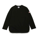 Emery Spring Long Sleeve Pocket T-shirts Black