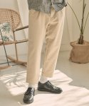 제로(XERO) Cotton Slub Set Up Pants [Beige]