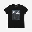 휠라(FILA) [JEFF STAPLE X FILA]  티셔츠 (FS2RSA2J04XBLK)