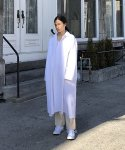 아무 코리아(AMU KOREA) UNISEX AMU PLAIN OVERSIZE LONG SHIRT