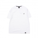 캉골(KANGOL) Basic Club Short Sleeves T 2565 White