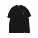 캉골(KANGOL) Basic Club Short Sleeves T 2565 Black
